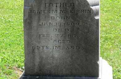 MCKIBBIN, JAMES M. - Morrow County, Ohio | JAMES M. MCKIBBIN - Ohio Gravestone Photos