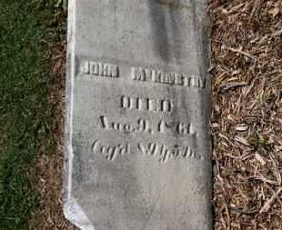 MCKINSTRY, JOHN - Morrow County, Ohio   JOHN MCKINSTRY - Ohio Gravestone Photos