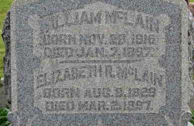 MCLAIN, ELIZABETH R. - Morrow County, Ohio | ELIZABETH R. MCLAIN - Ohio Gravestone Photos