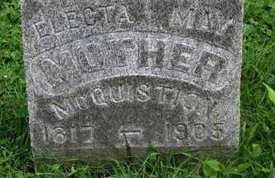 MCQUISTION, ELECTA - Morrow County, Ohio | ELECTA MCQUISTION - Ohio Gravestone Photos