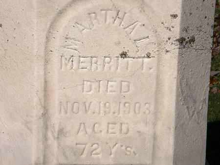 MERRITT, MARTHA L. - Morrow County, Ohio | MARTHA L. MERRITT - Ohio Gravestone Photos
