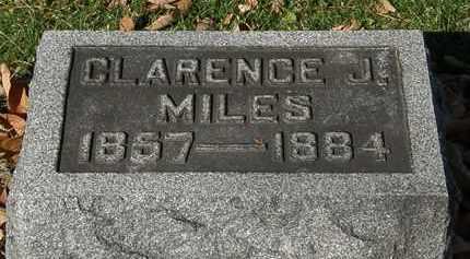 MILES, CLARENCE J. - Morrow County, Ohio | CLARENCE J. MILES - Ohio Gravestone Photos