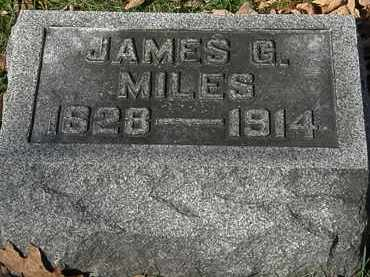 MILES, JAMES G. - Morrow County, Ohio | JAMES G. MILES - Ohio Gravestone Photos