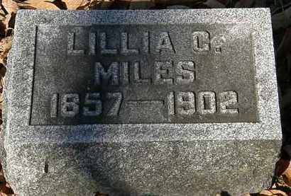 MILES, LILLIA C. - Morrow County, Ohio | LILLIA C. MILES - Ohio Gravestone Photos