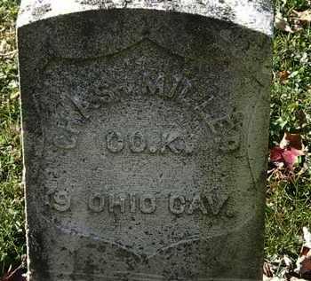 MILLER, CHAS. - Morrow County, Ohio | CHAS. MILLER - Ohio Gravestone Photos