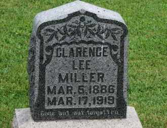 MILLER, CLARENCE LEE - Morrow County, Ohio | CLARENCE LEE MILLER - Ohio Gravestone Photos