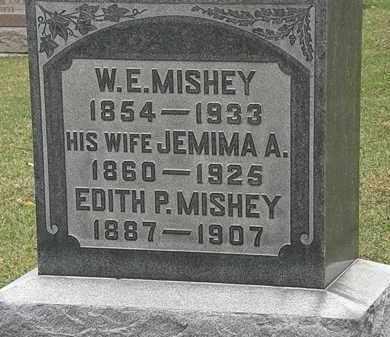 MISHEY, JEMIMA A. - Morrow County, Ohio | JEMIMA A. MISHEY - Ohio Gravestone Photos