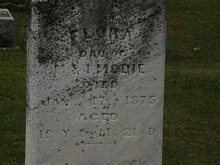 MODIE, FLORA - Morrow County, Ohio   FLORA MODIE - Ohio Gravestone Photos