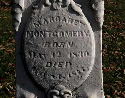 MONTGOMERY, MARGARET - Morrow County, Ohio | MARGARET MONTGOMERY - Ohio Gravestone Photos