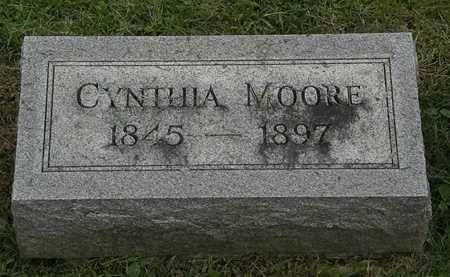 MOORE, CYNTHIA - Morrow County, Ohio | CYNTHIA MOORE - Ohio Gravestone Photos