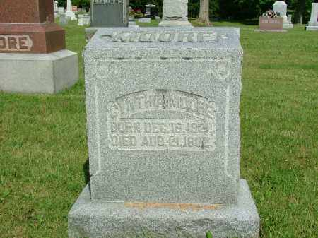 VANDERVORT MOORE, CYNTHIA - Morrow County, Ohio | CYNTHIA VANDERVORT MOORE - Ohio Gravestone Photos