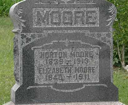 MOORE, ELIZABETH - Morrow County, Ohio | ELIZABETH MOORE - Ohio Gravestone Photos