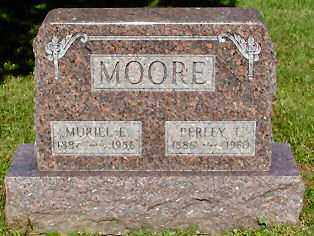 MOORE, PERLEY THOMAS - Morrow County, Ohio | PERLEY THOMAS MOORE - Ohio Gravestone Photos
