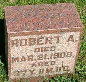MOORE, ROBERT ARTHUR - Morrow County, Ohio | ROBERT ARTHUR MOORE - Ohio Gravestone Photos