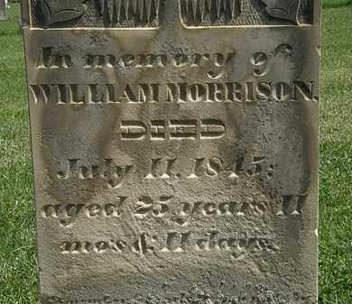 MORRISON, WILLIAM - Morrow County, Ohio | WILLIAM MORRISON - Ohio Gravestone Photos
