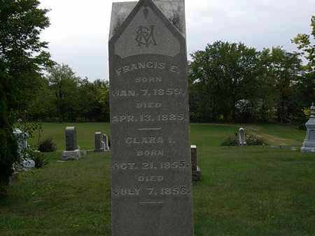 MORTON, CLARA I. - Morrow County, Ohio | CLARA I. MORTON - Ohio Gravestone Photos