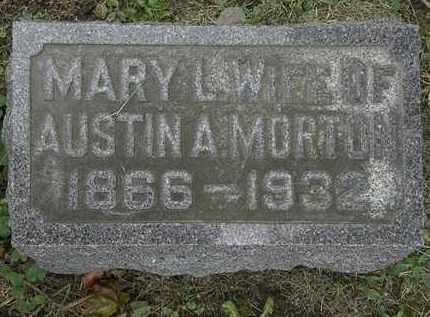 MORTON, AUSTIN A. - Morrow County, Ohio | AUSTIN A. MORTON - Ohio Gravestone Photos
