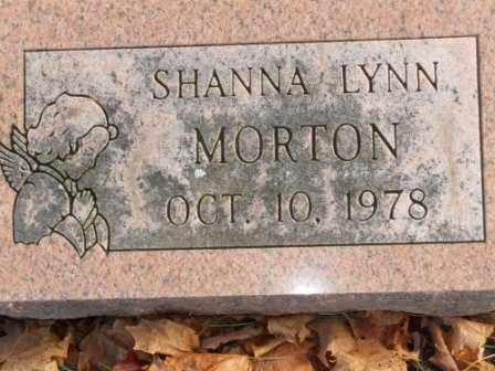 MORTON, SHANNA LYNN - Morrow County, Ohio | SHANNA LYNN MORTON - Ohio Gravestone Photos