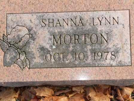 MORTON, SHANNA LYNN - Morrow County, Ohio | SHANNA LYNN MORTON - Ohio Gravestone Photos