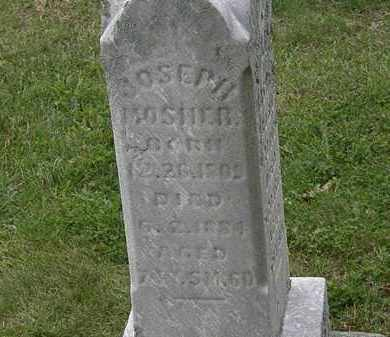 MOSHER, JOSEPH - Morrow County, Ohio | JOSEPH MOSHER - Ohio Gravestone Photos
