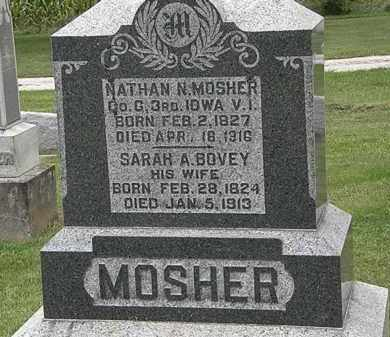 BOVEY MOSHER, SARAH A. - Morrow County, Ohio | SARAH A. BOVEY MOSHER - Ohio Gravestone Photos
