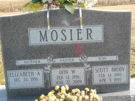 MOSIER, SCOTT BRODY - Morrow County, Ohio | SCOTT BRODY MOSIER - Ohio Gravestone Photos