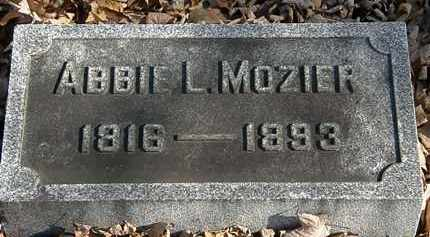 MOZIER, ABBIE L. - Morrow County, Ohio | ABBIE L. MOZIER - Ohio Gravestone Photos