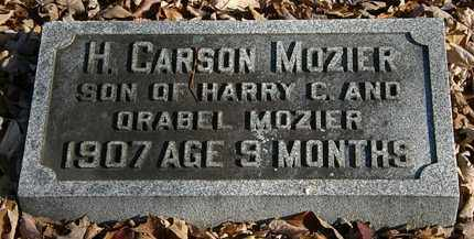 MOZIER, H. CARSON - Morrow County, Ohio | H. CARSON MOZIER - Ohio Gravestone Photos