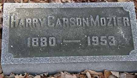 MOZIER, HARRY CARSON - Morrow County, Ohio | HARRY CARSON MOZIER - Ohio Gravestone Photos