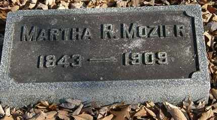 MOZIER, MARTHA R. - Morrow County, Ohio | MARTHA R. MOZIER - Ohio Gravestone Photos