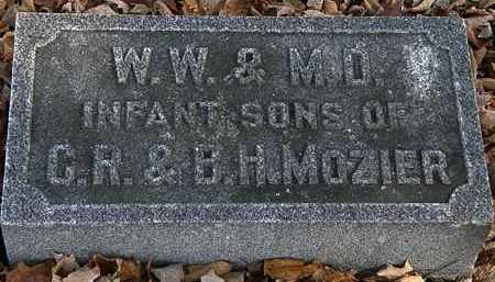 MOZIER, M.D. - Morrow County, Ohio | M.D. MOZIER - Ohio Gravestone Photos