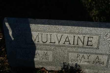 MULVAINE, CLARA M - Morrow County, Ohio | CLARA M MULVAINE - Ohio Gravestone Photos