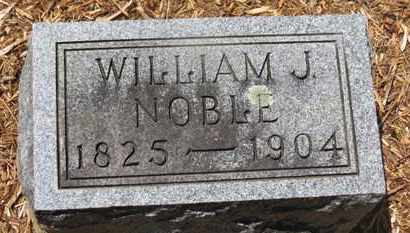 NOBLE, WILLIAM J. - Morrow County, Ohio | WILLIAM J. NOBLE - Ohio Gravestone Photos