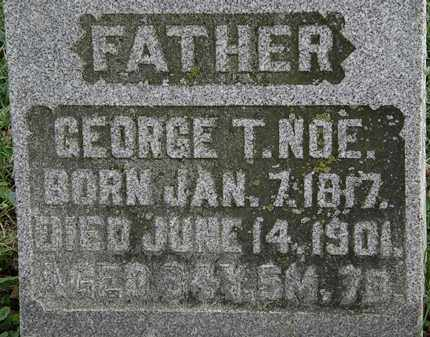 NOE, GEORGE T. - Morrow County, Ohio | GEORGE T. NOE - Ohio Gravestone Photos