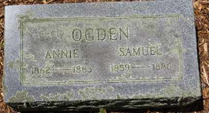 OGDEN, ANNIE - Morrow County, Ohio | ANNIE OGDEN - Ohio Gravestone Photos