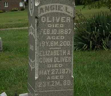 OLIVER, ANGIE L. - Morrow County, Ohio | ANGIE L. OLIVER - Ohio Gravestone Photos