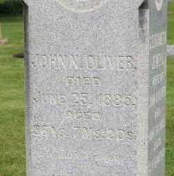 OLIVER, JOHN N. - Morrow County, Ohio | JOHN N. OLIVER - Ohio Gravestone Photos