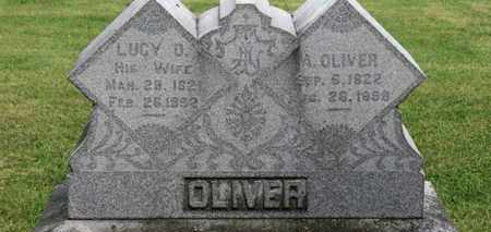 OLIVER, LUCY O. - Morrow County, Ohio | LUCY O. OLIVER - Ohio Gravestone Photos