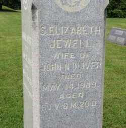 JEWELL OLIVER, S. ELIZABETH - Morrow County, Ohio | S. ELIZABETH JEWELL OLIVER - Ohio Gravestone Photos