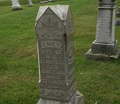 OLMSTEAD, EMILY - Morrow County, Ohio | EMILY OLMSTEAD - Ohio Gravestone Photos