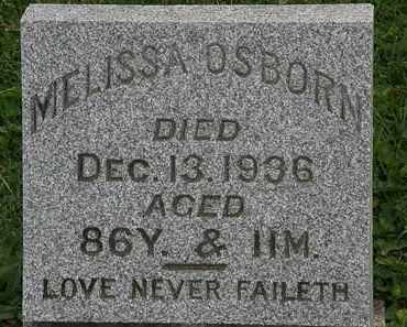 OSBORN, MELISSA - Morrow County, Ohio | MELISSA OSBORN - Ohio Gravestone Photos