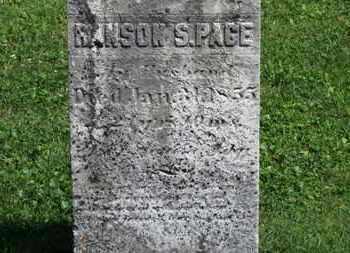 PAGE, RANSON S. - Morrow County, Ohio | RANSON S. PAGE - Ohio Gravestone Photos