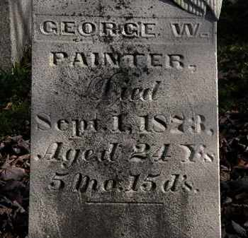 PAINTER, GEORGE W. - Morrow County, Ohio | GEORGE W. PAINTER - Ohio Gravestone Photos