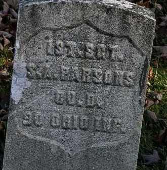 PARSONS, S.A. - Morrow County, Ohio | S.A. PARSONS - Ohio Gravestone Photos