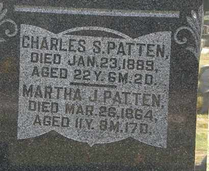 PATTEN, MARTHA J. - Morrow County, Ohio | MARTHA J. PATTEN - Ohio Gravestone Photos
