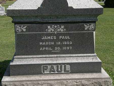 PAUL, JAMES - Morrow County, Ohio | JAMES PAUL - Ohio Gravestone Photos