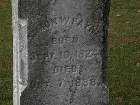 PAYNE, SIMON - Morrow County, Ohio | SIMON PAYNE - Ohio Gravestone Photos
