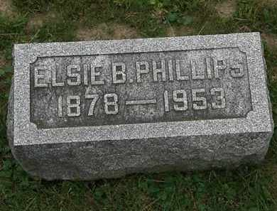 PHILLIPS, ELSIE B. - Morrow County, Ohio | ELSIE B. PHILLIPS - Ohio Gravestone Photos