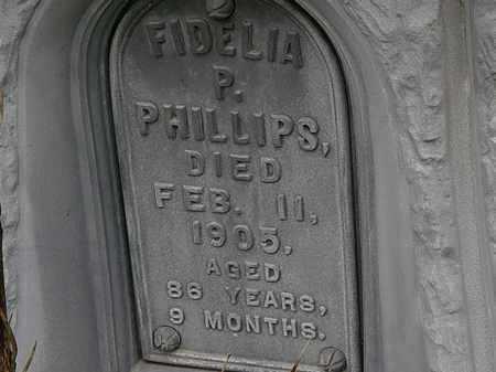 PHILLIPS, FIDELIA P. - Morrow County, Ohio | FIDELIA P. PHILLIPS - Ohio Gravestone Photos