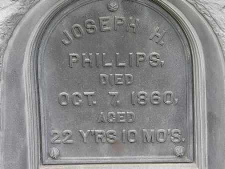 PHILLIPS, JOSEPH H. - Morrow County, Ohio | JOSEPH H. PHILLIPS - Ohio Gravestone Photos